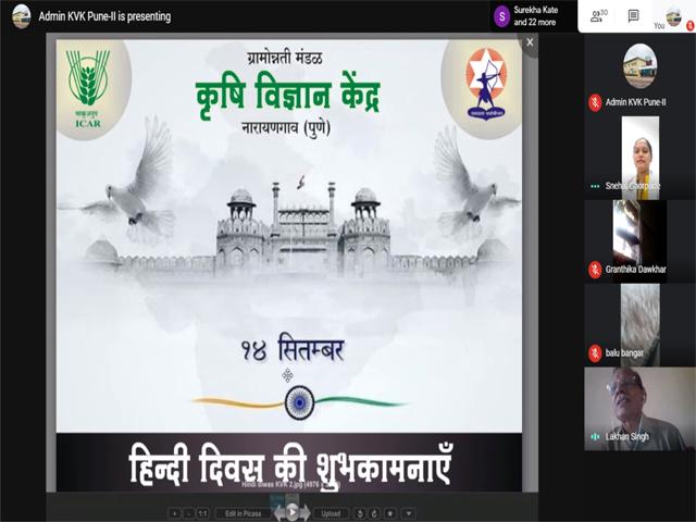 Celebration of Hindi Diwas- Online